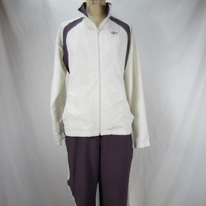 Other - Reebok Purple White Pants Jacket Track Suit M L